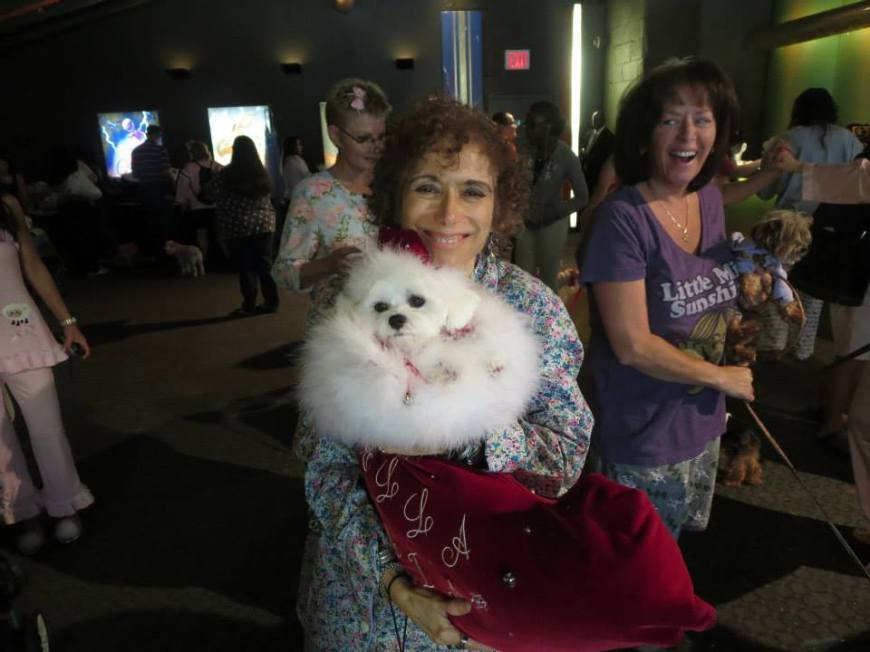 Bella Mia at Celebrity Catwalk's PJ's & Paws event