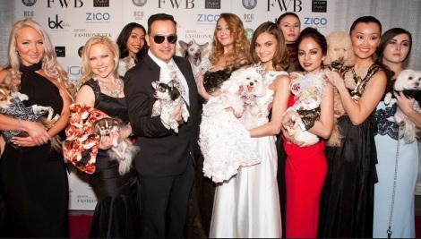 Anthony Rubio Fashion Week Brooklyn 2014 Pet Fashion Show Red Carpet Finale