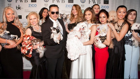 Anthony Rubio Fashion Week Brooklyn 2014 Pet Fashion Show Red Carpet Finale
