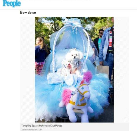 "People Magazine says ""Bow Down"" to Princess Bella Mia"